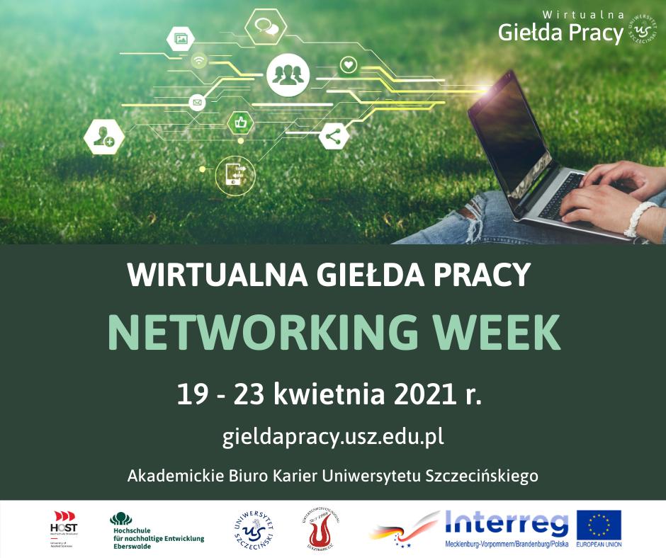 19-23.04.2021 r. Wirtualna Giełda Pracy Networking Week