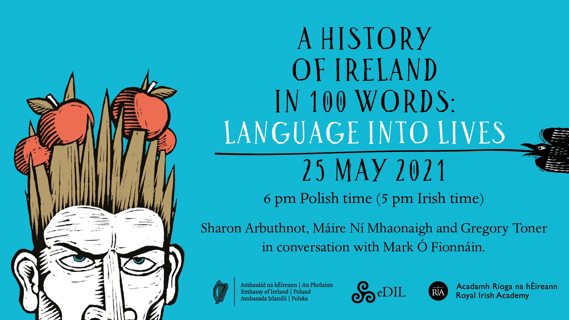 Zaproszenie: Język i historia Irlandii – dyskusja online w ambasadzie Irlandii dla wszystkich